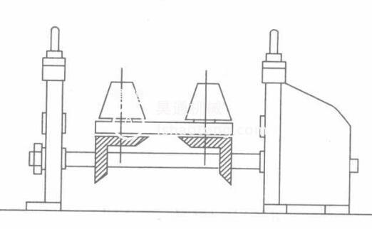 轻钢龙骨设备龙骨机辅助辊设计示意图